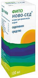 Фито ново-сед 100мл экстракт для приема внутрь жидкий фармвилар фпк