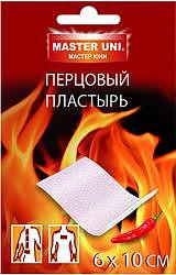 Пластырь мастерюни перцовый 6х10см