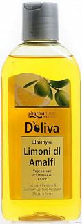 Долива лимони ди амальфи шампунь для укрепления ослабленных волос 200мл