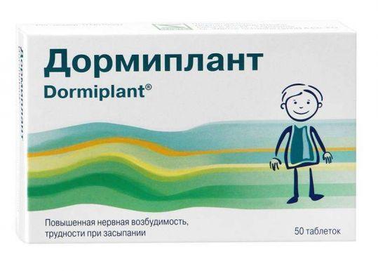 Дормиплант 50 шт. таблетки покрытые пленочной оболочкой, фото №1
