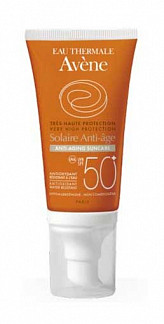 Авен крем солнцезащитный антивозрастной spf50 50мл