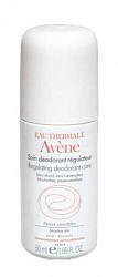 Авен дезодорант шариковый регулирующий 50мл pierre fabre dermo-cosmetique