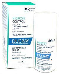 Дюкрэ гидросис контрол дезодорант-антиперспирант шариковый п/избыточного потоотделения 40мл