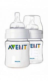 Авент аирфлекс бутылочка для кормления с соской для новорожденных 81480 (scf640/27) 125мл 2 шт.