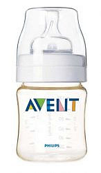 Авент классик бутылочка для кормления с соской для новорожденных 86020 (scf660/17) 125мл