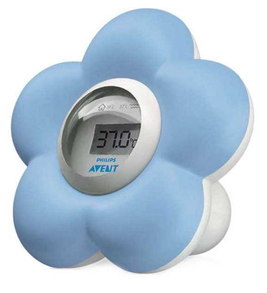 Авент термометр цифровой для ванны и помещений 85070 (sch550/20), фото №1