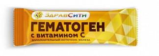 Гематоген здравсити с витамином с 40г