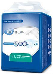 Айди слип подгузники для взрослых размер l/super 10 шт.