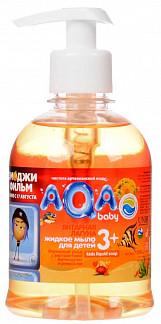 Аква бэби мыло жидкое детское янтарная лагуна 300мл