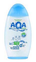 Аква бэби средство для купания + шампунь 2в1 500мл