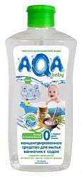 Аква бэби средство для мытья ванночек с содой 500мл
