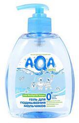 Аква бэби средство для подмывания мальчиков 300мл