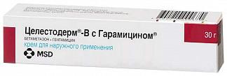 Целестодерм-в с гарамицином 30г крем