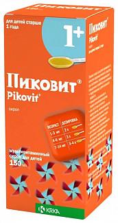 Пиковит 150мл сироп для детей
