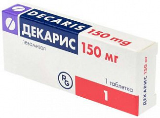 Декарис 150мг 1 шт. таблетки