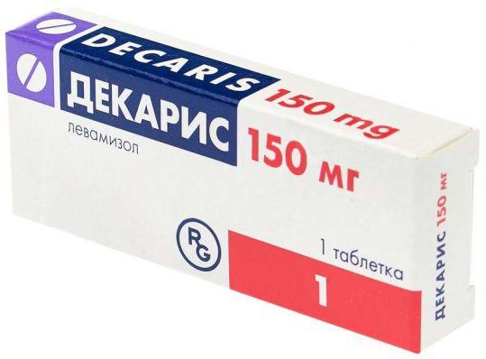 Декарис 150мг 1 шт. таблетки, фото №1