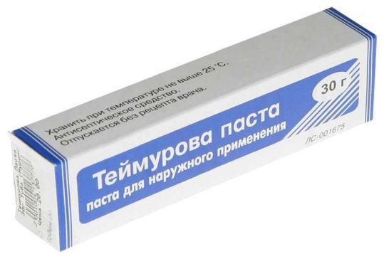 Теймурова паста 30г, фото №1
