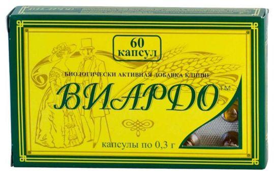 Виардо капсулы 0,3г 60 шт., фото №1
