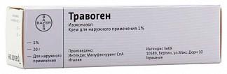 Травоген 1% 20г крем для наружного применения