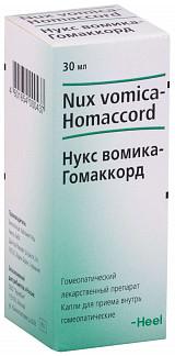 Нукс вомика-гомаккорд 30мл капли для приема внутрь biologische heilmittel heel gmbh