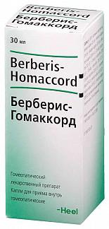 Берберис-гомаккорд 30мл капли для приема внутрь гомеопатические