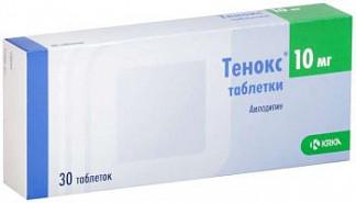 Тенокс 10мг 30 шт. таблетки