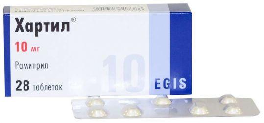 Хартил 10мг 28 шт. таблетки, фото №1