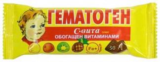 Гематоген с-вита плюс 50г фарм-про