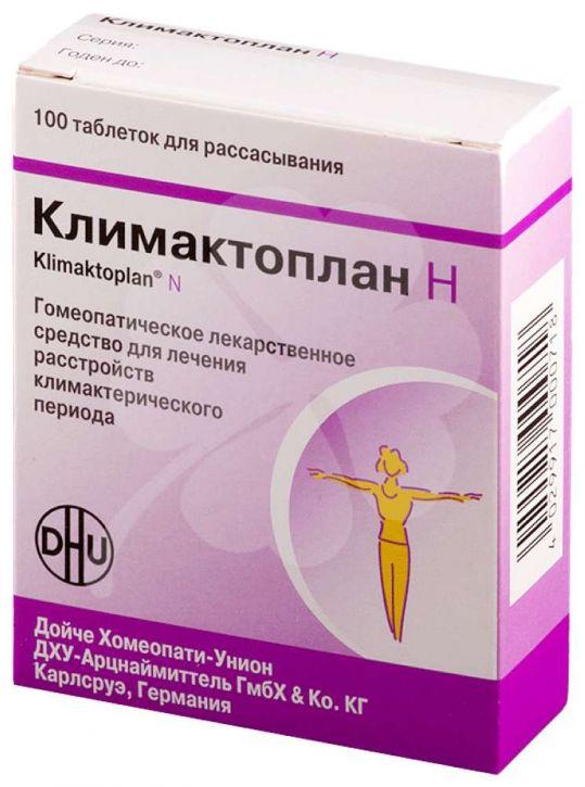 Климактоплан н 100 шт. таблетки, фото №1