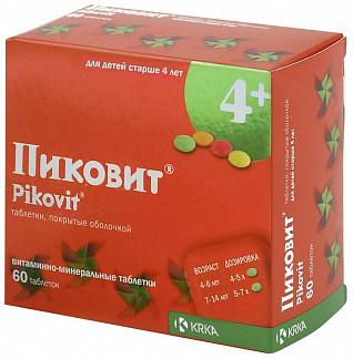Пиковит 60 шт. таблетки покрытые оболочкой