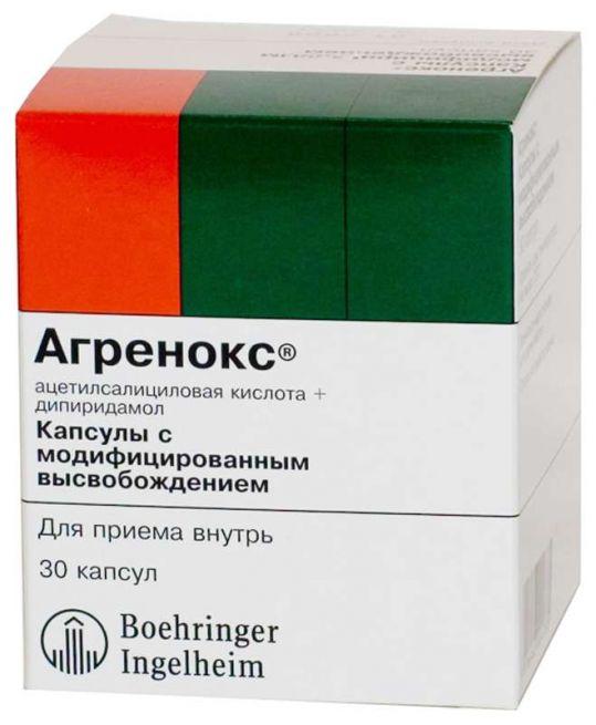 Агренокс 200мг+25мг 30 шт. капсулы модифицированного высвобождения, фото №1