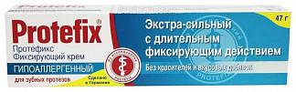Протефикс крем фиксирующий для зубных протезов экстра сильный 40мл/47г