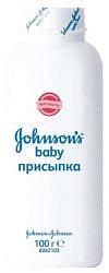 Джонсонс беби присыпка 100г джонсон & джонсон