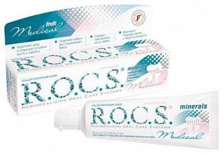 Рокс медикал минералс гель для укрепления зубов 45г