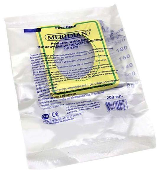 Меридиан мочеприемник детский pd2200 200мл, фото №1