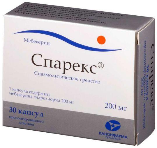 Спарекс 200мг 30 шт. капсулы с пролонгированным высвобождением, фото №1