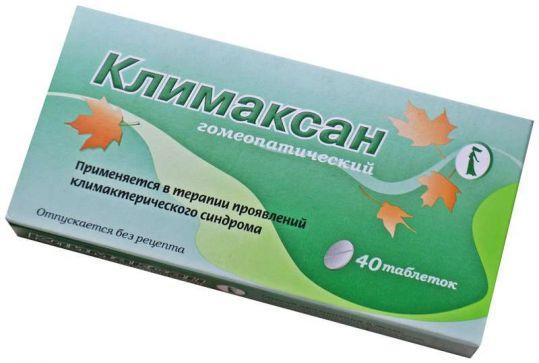 Климаксан 40 шт. таблетки для рассасывания, фото №1