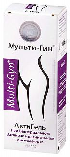 Актигель мульти-гин гель вагинальный 50мл