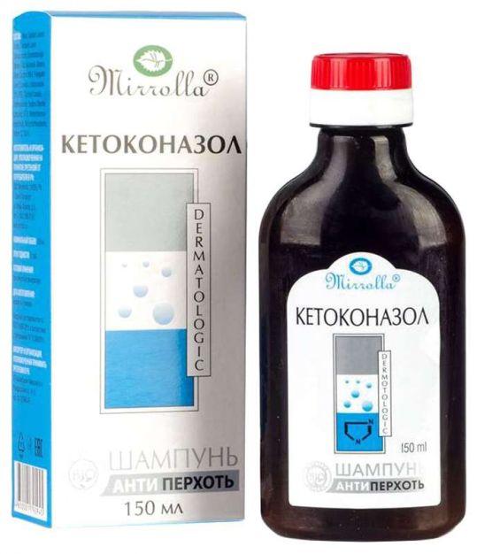 Мирролла кетоконазол шампунь 2% против перхоти нейтральный 150мл, фото №1