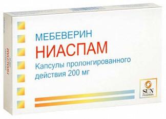 Ниаспам 200мг 30 шт. капсулы пролонгированного действия