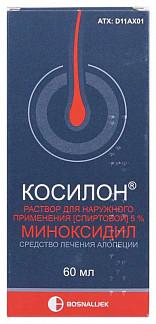 Косилон 5% 60мл раствор для наружного применения