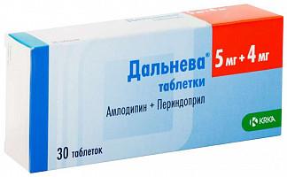 Дальнева 5мг+4мг 30 шт. таблетки