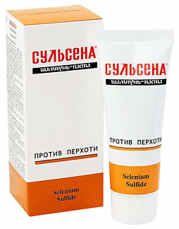 Сульсена шампунь-паста против перхоти 1% 75мл
