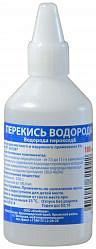 Перекись водорода 3% 100мл раствор для местного и наружного применения флакон п/э ндс 10%