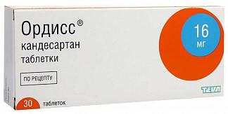 Ордисс 16 мг купить в москве