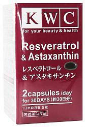 Квц капсулы ресвератрол и астаксантин 60 шт.