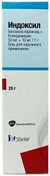 Индоксил 50мг+10мг/г 25г гель для наружного применения glaxo operations uk limited