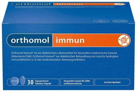 Ортомоль иммуно таб/капс n30, фото №1