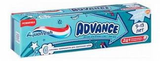 Аквафреш адванс зубная паста детская 9-13 лет 75мл де мицлен а.с.
