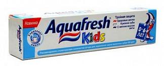 Аквафреш кидс зубная паста детская 50мл